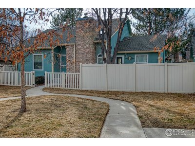 Longmont Single Family Home Active-Backup: 3119 Lake Park Way