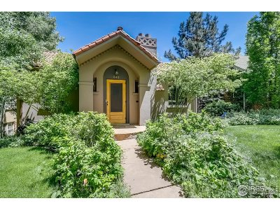 Boulder Single Family Home For Sale: 842 13 St