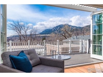 Boulder Single Family Home For Sale: 1014 Mapleton Ave