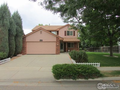 Fort Collins Single Family Home For Sale: 2826 Paddington Rd