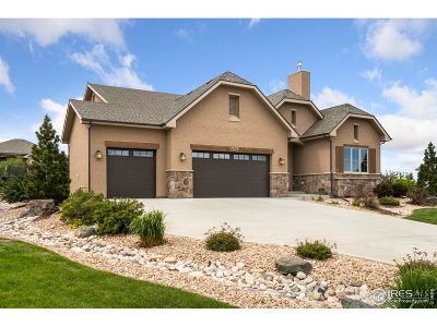 Fort Collins CO Single Family Home For Sale: $875,000