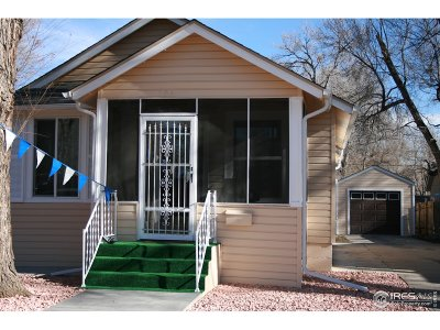 Longmont Single Family Home For Sale: 504 Martin St
