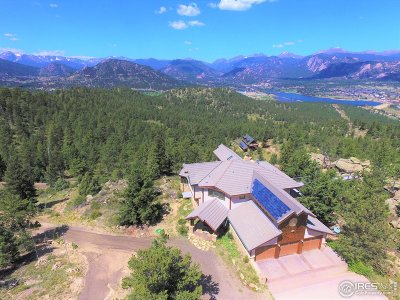 Estes Park CO Single Family Home For Sale: $2,695,000