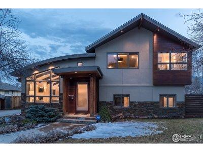 Boulder Single Family Home For Sale: 1830 Elder Ave