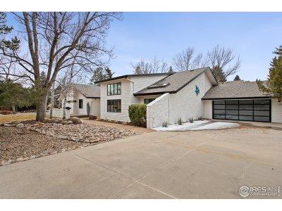 Boulder Single Family Home For Sale: 5075 Cottonwood Dr
