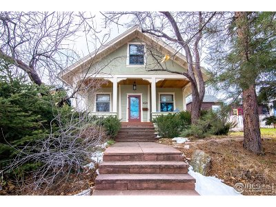Boulder Single Family Home For Sale: 424 Concord Ave