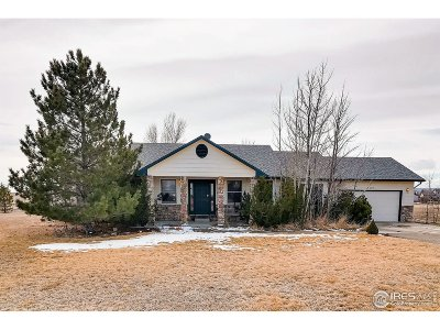 Berthoud Single Family Home For Sale: 4623 Foothills Dr