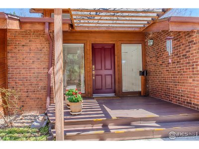 Boulder Single Family Home For Sale: 1739 Hawthorn Pl