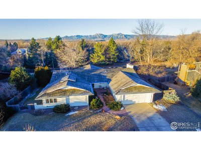 Boulder Single Family Home For Sale: 7456 Old Mill Trl
