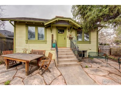 Fort Collins Single Family Home For Sale: 725 E Mulberry St