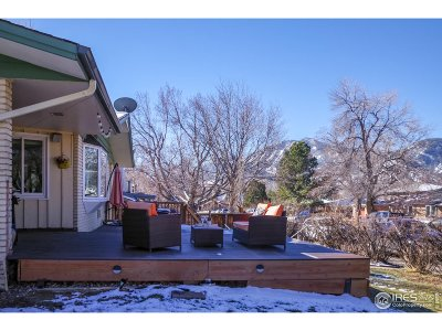 Boulder CO Single Family Home For Sale: $1,325,000