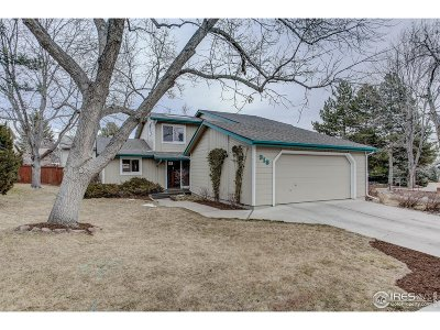 Fort Collins CO Single Family Home For Sale: $495,000