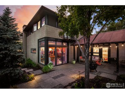 Boulder CO Single Family Home For Sale: $2,300,000