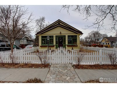 Fort Collins Single Family Home For Sale: 1100 W Oak St