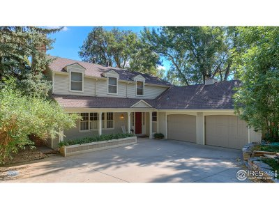 Boulder Single Family Home For Sale: 330 16th St