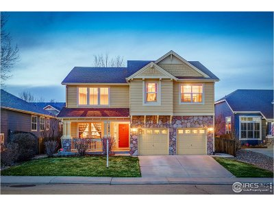 Longmont Single Family Home For Sale: 1614 Prairie Song Pl