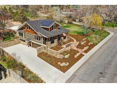 Boulder CO Single Family Home Active-Backup: $4,300,000
