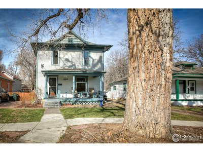 Fort Collins Single Family Home For Sale: 629 Mathews St