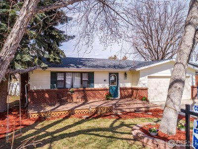 Longmont Single Family Home For Sale: 2700 Mountain View Ave