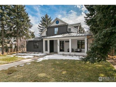 Boulder Single Family Home Active-Backup: 506 Juniper Ave