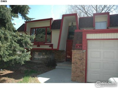 Boulder County Single Family Home For Sale: 1138 Hover St
