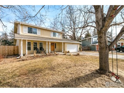 Fort Collins Single Family Home For Sale: 2206 Hiawatha Ct