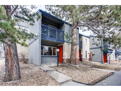 Boulder Condo/Townhouse For Sale: 760 W Moorhead Cir #F