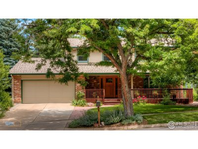 Boulder Single Family Home For Sale: 1780 Lehigh St