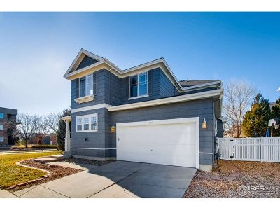 Longmont Single Family Home For Sale: 3735 Florentine Dr