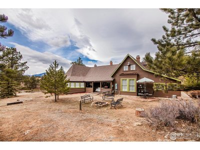 Estes Park Single Family Home For Sale: 898 Fish Creek Rd