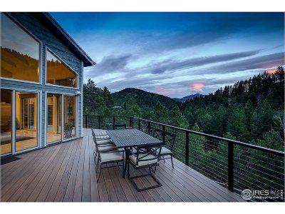 Boulder Single Family Home For Sale: 2167 Fourmile Canyon Dr