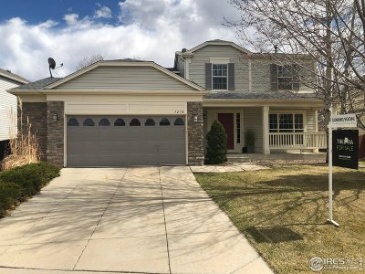 Longmont Single Family Home For Sale: 1478 Wildrose Dr