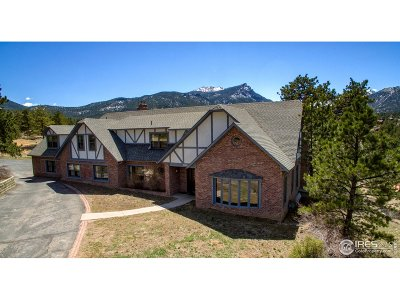 Estes Park Single Family Home For Sale: 2165 Governors Ln