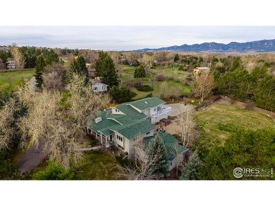Boulder Single Family Home For Sale: 545 Theresa Dr