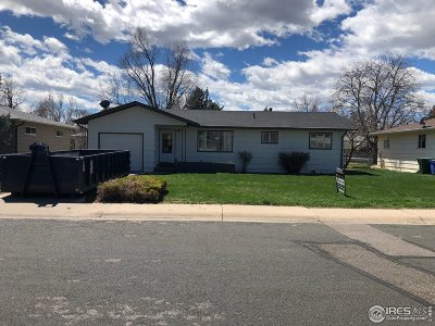 Loveland Single Family Home Active-Backup: 2525 Cedar Dr