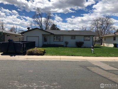Loveland Single Family Home Active-Backup: 2525 Cedar Dr