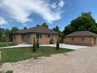 Single Family Home For Sale: 2106 S Taft Hill Rd