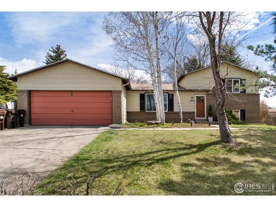 Boulder Single Family Home For Sale: 4508 Ashfield Dr