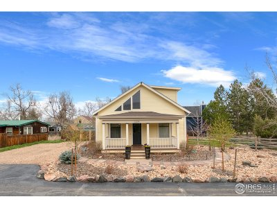 Boulder Single Family Home For Sale: 1204 Sumac Ave