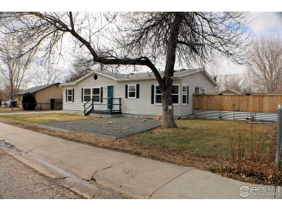 Berthoud Single Family Home For Sale: 1075 6th St Ct