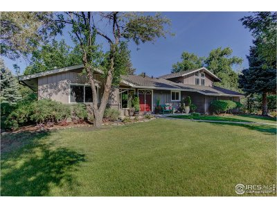 Boulder Single Family Home For Sale: 135 76th St