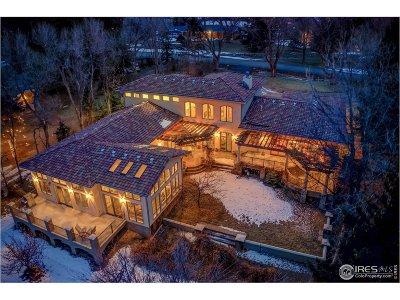Boulder Single Family Home For Sale: 7701 Brockway Dr