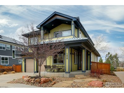 Boulder CO Single Family Home For Sale: $1,099,000