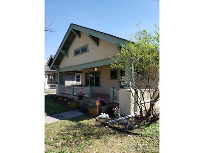 Fort Collins Single Family Home For Sale: 1031 W Oak St