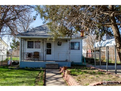 Weld County Single Family Home For Sale: 102 5th St