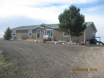 Weld County Single Family Home For Sale: 7125 County Road 104