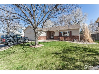 Fort Collins Single Family Home For Sale: 1431 Clementine Ct