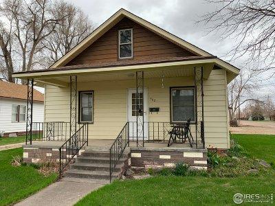 Sterling Single Family Home For Sale: 502 Platte St