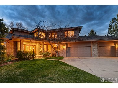 Boulder Single Family Home For Sale: 1335 Swallow Ct