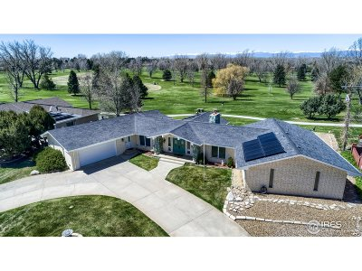 Greeley Single Family Home For Sale: 2121 Clubhouse Dr